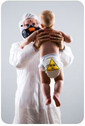 Hazmat Suit needed for baby waste smells